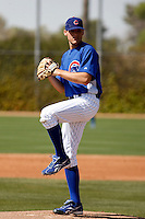 Justin Bristow - Chicago Cubs - 2009 spring training.Photo by:  Bill Mitchell/Four Seam Images
