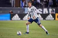 SAN JOSE, CA - MAY 01: Julian Gressel #31 of DC United dribbles the ball during a game between San Jose Earthquakes and D.C. United at PayPal Park on May 01, 2021 in San Jose, California.