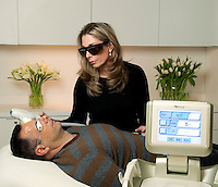IPL, Intense Pulsed Laser Treatment for damaged skin.