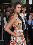 Nina Dobrev attends The Twentieth Century Fox L.A. Premiere of Let's Be Cops held at The Cinerama Dome in Beverly Hills, California on August 07,2014                                                                               © 2014 Hollywood Press Awards