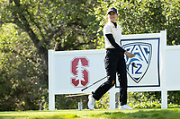 STANFORD, CA - APRIL 23: Alessandra Fanali at Stanford Golf Course on April 23, 2021 in Stanford, California.