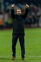 England Manager Gareth Southgate celebrates after the UEFA Euro 2020 Qualifying Group A match between Kosovo and England at Fadil Vokrri Stadium on November 17th 2019 in Pristina, Kosovo. (Photo by Daniel Chesterton/phcimages.com)<br /> Photo PHC Images / Insidefoto <br /> ITALY ONLY