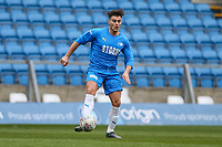 Matt Lapinskas during the Celebrity football match in aid of the charity's 'Keep Moving Forward' programme which benefits people with mental health issues put together by Wycombe Wanderers Sports & Education Trust and Sellebrity Soccer Football Match at Adams Park, High Wycombe, England on 7 April 2019. Photo by David Horn.