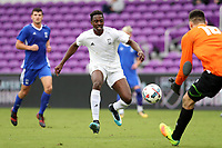 Orlando, Florida - Saturday January 13, 2018: Will Bagrou. Match Day 1 of the 2018 adidas MLS Player Combine was held Orlando City Stadium.