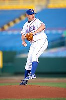 June 2, 2009: Brandon Duckworth (31) of the Omaha Royals at Rosenblatt Stadium in Omaha, NE.  Photo by: Chris Proctor/Four Seam Images