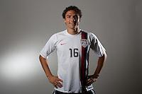 Julian Valentin. U20 men's national team portrait photoshoot before the start of the FIFA U-20 World Cup in Canada. June 22, 2007.