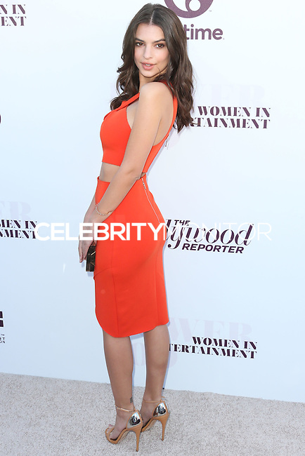 HOLLYWOOD, LOS ANGELES, CA, USA - DECEMBER 10: Emily Ratajkowski arrives at The Hollywood Reporter's 23rd Annual Power 100 Women In Entertainment Breakfast held at Milk Studios on December 10, 2014 in Hollywood, Los Angeles, California, United States. (Photo by Xavier Collin/Celebrity Monitor)