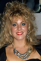 """Montreal (Qc) CANADA - circa 1987 -File Photo -<br /> <br /> Nancy Martinez . <br /> <br /> Nancy Martinez (born 26 August 1960 in Montreal, Quebec) is an international Dance-pop music artist who is primarily known for her 1986 hits """"For Tonight"""" and """"Move Out"""".<br /> <br /> In 1982, she released two Hi-NRG tracks, """"I'm Gonna Get Your Love"""" (credited as Jade) and """"Can't Believe"""" (credited as Nancy Martin).<br /> <br /> In 1986, she released two freestyle hits, """"For Tonight"""" and """"Move Out"""", both from the album Not Just The Girl Next Door. The songs are still in rotation at many dance music radio stations throughout Canada. In 1993 Nancy released a French album on Isba Music entitled Pourquoi Tu Pars? featuring the title track, a cover of italian singer songwriter Marco Masini's """"Perche lo fai?"""" As well as """"La Maitresse de tes reves"""" whose video received much airplay on Musique Plus Much Music's sister station in Quebec. In 2006, Martinez collaborated with MC Mario on the song """"Not Guilty"""".<br /> <br /> -Photo (c)  Images Distribution"""