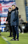 Rangers v St Johnstone…03.02.21   Ibrox   SPFL<br />St Johnstone manager Callum Davidson<br />Picture by Graeme Hart.<br />Copyright Perthshire Picture Agency<br />Tel: 01738 623350  Mobile: 07990 594431