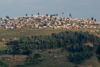 RWANDA, Byumba , Gihembe refugee camp with 17.000 congolese refugees