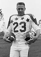 Ron Lancaster 1970 Canadian Football League Allstar team. Copyright photograph Ted Grant