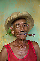 Juan Bastida on his 83rd birthday, Trinidad, Cuba, 2009