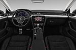 Stock photo of straight dashboard view of 2018 Volkswagen Arteon Elegance 5 Door Hatchback Dashboard