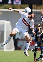 April 11, 2009:  Cuauhtemoc Blanco of Fire in action against the Earthquakes at Buck Shaw Stadium in Santa Clara, California. San Jose Earthquakes and Chicago Fire tied, 3-3