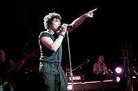 Julien Clerc au Theatre St-Denis, 7 avril 1984<br /> <br /> PHOTO :  Agence Quebec Presse