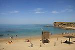 Israel, Sharon region. kfar hayam beach in Hadera
