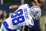 Dallas Cowboys wide receiver Dez Bryant (88) in action during the pre-season game between the Miami Dolphins and the Dallas Cowboys at the AT & T stadium in Arlington, Texas.