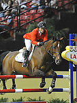 17 April 2009: Beezie Madden (USA) and Danny Boy at the Rolex World Cup Jumping Final II.b