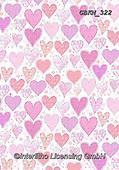 Kate, GIFT WRAPS, GESCHENKPAPIER, PAPEL DE REGALO, paintings+++++Hearts 9 repeat,GBKM322,#gp#, EVERYDAY ,hearts,valentine