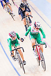 Lizbeth Yareli Salazar Vazquez and Sofia Arreola Navarro of Mexico compete on the Women's Madison 30km Final during the 2017 UCI Track Cycling World Championships on 15 April 2017, in Hong Kong Velodrome, Hong Kong, China. Photo by Chris Wong / Power Sport Images