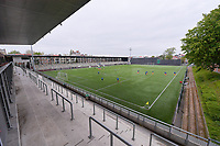 illustration picture of the Crossing Schaarbeek stadion pictured during a female soccer game between RSC Anderlecht Dames and AA Gent Ladies on the fifth matchday of play off 1 of the 2020 - 2021 season of Belgian Womens Super League , saturday 8 th of May 2021  in Brussels , Belgium . PHOTO SPORTPIX.BE | SPP | STIJN AUDOOREN