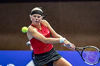 Alphen aan den Rijn, Netherlands, December 18, 2019, TV Nieuwe Sloot,  NK Tennis,  Eva Vedder (NED)<br /> Photo: www.tennisimages.com/Henk Koster