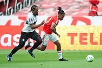 8th November 2020; Beira-Rio Stadium, Porto Alegre, Brazil; Brazilian Serie A, Internacional versus Coritiba; Abel Hernandez of Internacional breaks away from Sabino of Coritiba