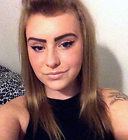 Pictured: Naomi Carter taken from open social media account.<br /> Re: Jason Thomas and girlfriend Naomi Carter have died and a baby has been taken to hospital after the car they were travelling in crashed into a lamp-post in the Swansea Valley, Wales, UK.<br /> South Wales Police was called to Swansea Road, Trebanos, in the county of Neath Port Talbot at about 3:15am of Saturday.<br /> The 23-year-old male driver and a female passenger, 18, were killed. 11-month-old baby Brogan was taken to hospital with non life-threatening injuries.<br /> Police have appealed for witnesses.