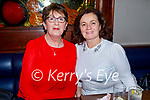 Mary O'Connor and Geraldine Counihan enjoying the evening in Benners Hotel on Friday