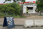 Silvertown London Thames Road E16 Snack Attack workmans fast food take away outlet.