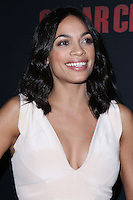 """HOLLYWOOD, LOS ANGELES, CA, USA - MARCH 20: Rosario Dawson at the Los Angeles Premiere Of Pantelion Films And Participant Media's """"Cesar Chavez"""" held at TCL Chinese Theatre on March 20, 2014 in Hollywood, Los Angeles, California, United States. (Photo by David Acosta/Celebrity Monitor)"""