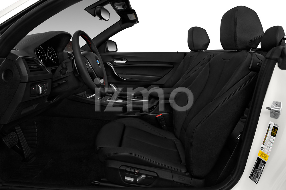 Front seat view of a 2019 BMW 2 Series 230i Sport Line 2 Door Convertible front seat car photos