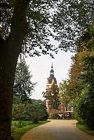Neues Schloss im Fürst Pückler Park, Bad Muskau, Sachsen, Deutschland, Europa, UNESCO-Weltkulturerbe<br /> New Palace in Fürst Pückler Park, Bad Muskau, Saxony, Germany, Europe, UNESCO-World Heritage