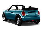 Car pictures of rear three quarter view of 2019 MINI Convertible Cooper-Signature 2 Door Convertible Angular Rear