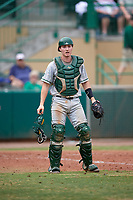 Dartmouth Big Green catcher Logan Adams (10) during a game against the USF Bulls on March 17, 2019 at USF Baseball Stadium in Tampa, Florida.  USF defeated Dartmouth 4-1.  (Mike Janes/Four Seam Images)