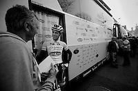 3 Days of De Panne.stage 2..Niki Terpstra interviewed.