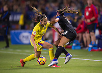 Carson, CA - November 13, 2016: The USWNT defeated Romania 5-0 during their international friendly at StubHub Center.