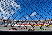 #20: Erik Jones, Joe Gibbs Racing, Toyota Camry Craftsman and #3: Austin Dillon, Richard Childress Racing, Chevrolet Camaro AAA