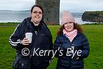 Enjoying a stroll in Ballybunion on Saturday, l to r: Eileen Ahern and Elaine Breen.