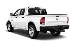 Car pictures of rear three quarter view of 2017 Ram Ram 1500 Tradesman Crew 4 Door Pick Up angular rear