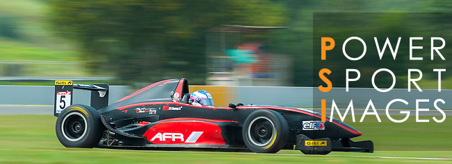 Liang Jia Tong of BlackArts Racing (KCMG) drives during the 2015 AFR Series as part of the 2015 Pan Delta Super Racing Festival at Zhuhai International Circuit on September 19, 2015 in Zhuhai, China.  Photo by Moses Ng/Power Sport Images