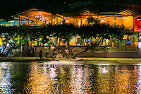 Night at Wharfside Village<br />