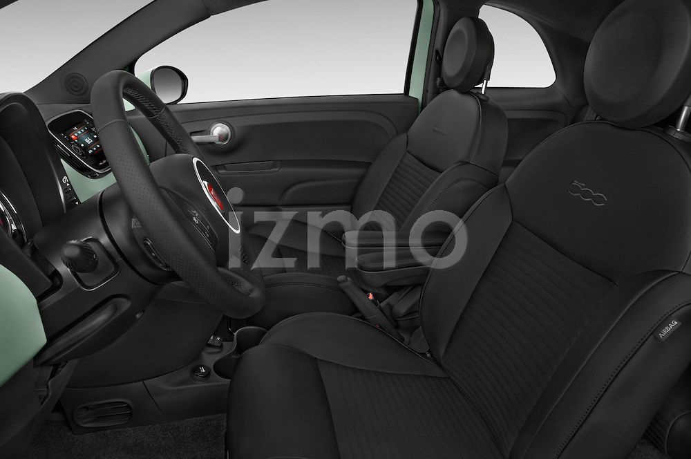 Front seat view of 2016 Fiat 500 Sport 3 Door Hatchback Front Seat  car photos