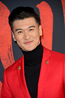"""LOS ANGELES, CA: 09, 2020: Chen Tang at the world premiere of Disney's """"Mulan"""" at the El Capitan Theatre.<br /> Picture: Paul Smith/Featureflash"""