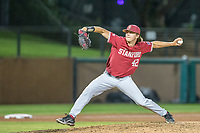 STANFORD, CA - JUNE 6: Adam Weiermiller during a game between UC Irvine and Stanford Baseball at Sunken Diamond on June 6, 2021 in Stanford, California.