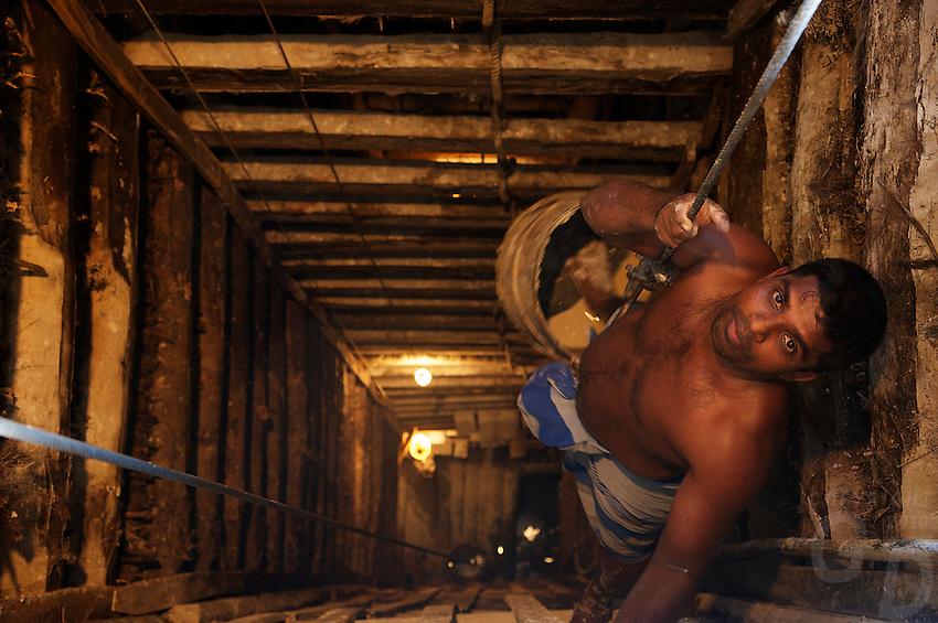 Moonstone Mine and production, Domanwila.Meetryagoda,Sri Lanka