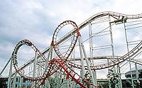 Vancouver: EXPO '86--The Scream--Machine Roller Coaster. Photo '86.