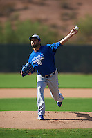 Kansas City Royals pitcher Scott Alexander (54) during an instructional league intersquad game on October 21, 2015 at the Papago Baseball Facility in Phoenix, Arizona.  (Mike Janes/Four Seam Images)