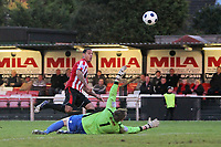 Leon McKenzie scores the second goal for Hornchurch - AFC Hornchurch vs Bishop's Stortford - FA Trophy 3rd Qualifying Round Football at The Stadium, Upminster Bridge, Essex - 10/11/12 - MANDATORY CREDIT: Gavin Ellis/TGSPHOTO - Self billing applies where appropriate - 0845 094 6026 - contact@tgsphoto.co.uk - NO UNPAID USE