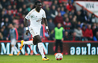 Bafetibis Gomis of Swansea City during the Barclays Premier League match between AFC Bournemouth and Swansea City played at The Vitality Stadium, Bournemouth on March 12th 2016
